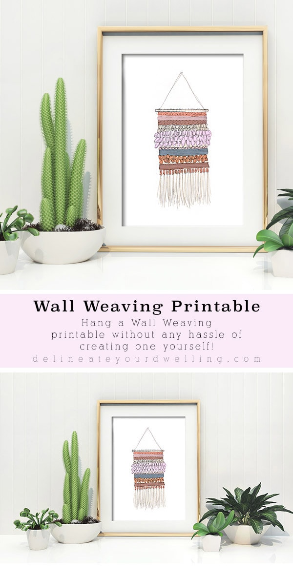 Gorgeous Wall Weaving Print