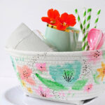 Watercolor Basket