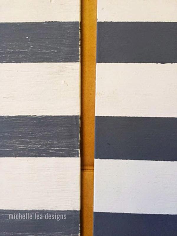 stripes on wood