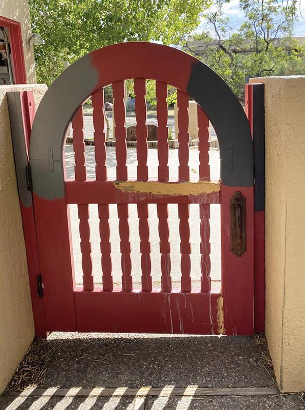 Wood Filler on gate