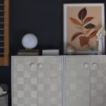 Woven Wooden Cabinet