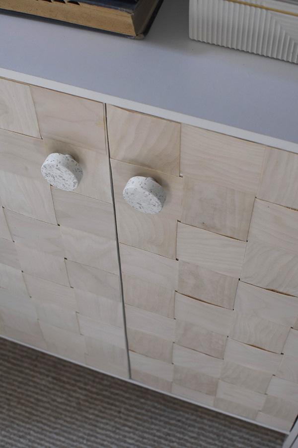 DIY Cabinet veneer fronts
