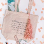 Written Note Teacher Tote Bag