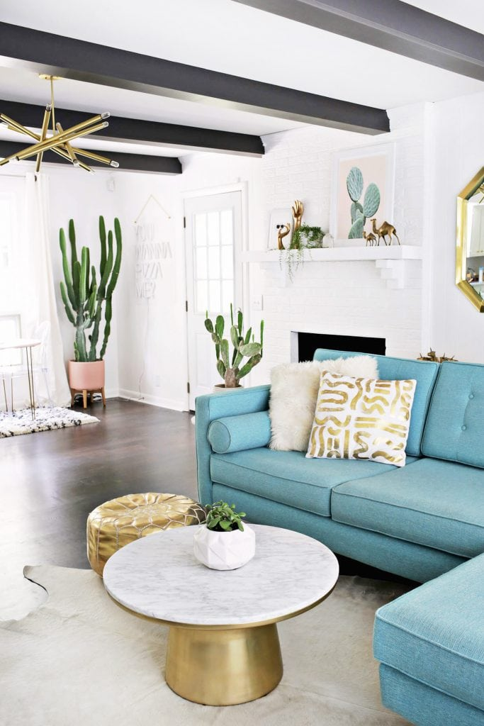 Clean Southwest Living Room