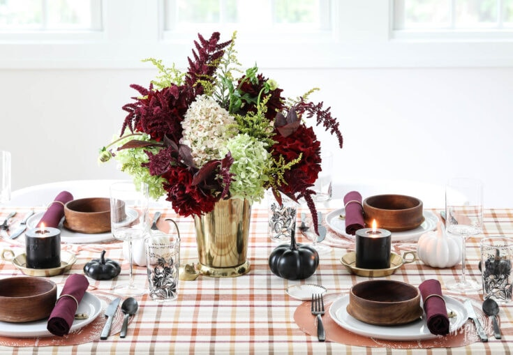 Colorful Fall Table Decorations